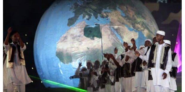 Gaddafi feiert mit Pomp 40. Jahrestag