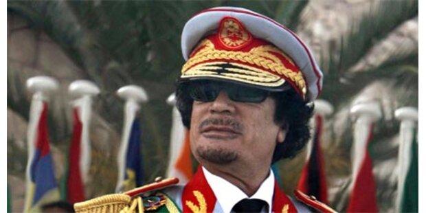Tiroler Heeres-Kapelle war bei Gaddafi