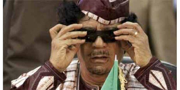 Gaddafi attackiert Europa und USA