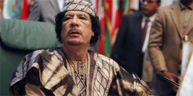 Gaddafi fordert Auflösung der Schweiz