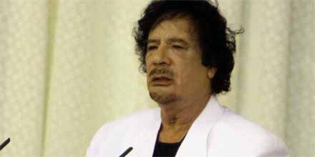 Gaddafi findet, Merkel ist ein Mann
