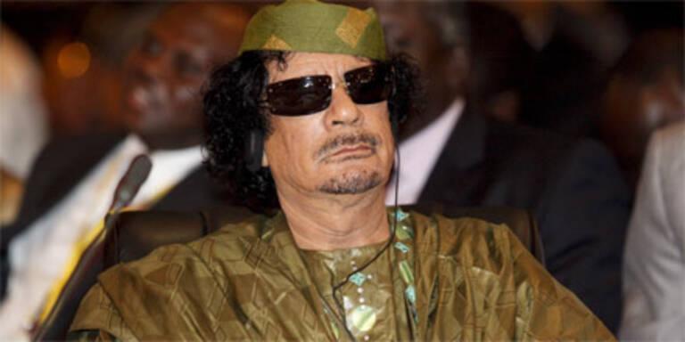 Gaddafi schickt seine Schergen