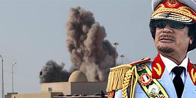 Gaddafi bombt weiter libysche Städte