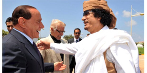 Italien will Libyen für Kolonialzeit entschädigen