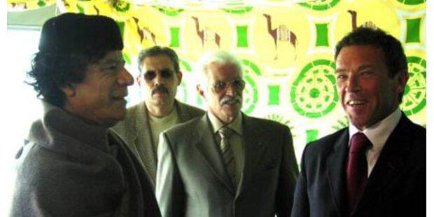 Libyen-Schweiz-Streit: Haider sondierte