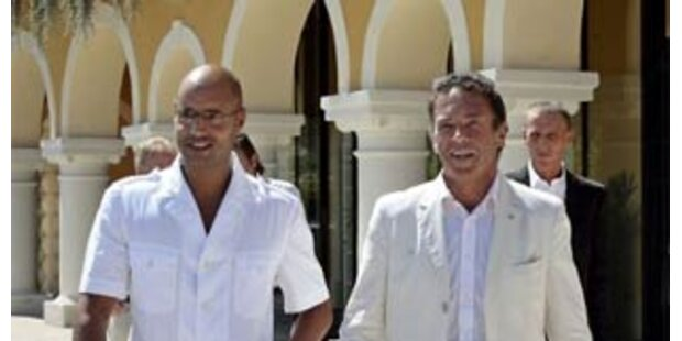 Gaddafi-Sohn rechnet mit Terror