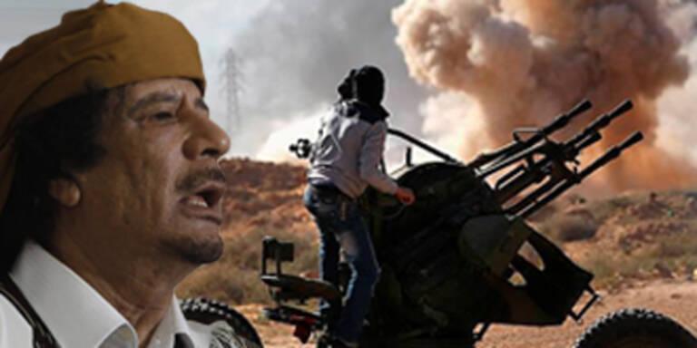 Gaddafi trickst Rebellen aus