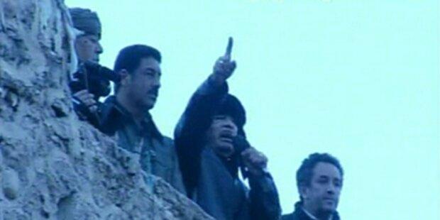 Gaddafi am Grünen Platz:
