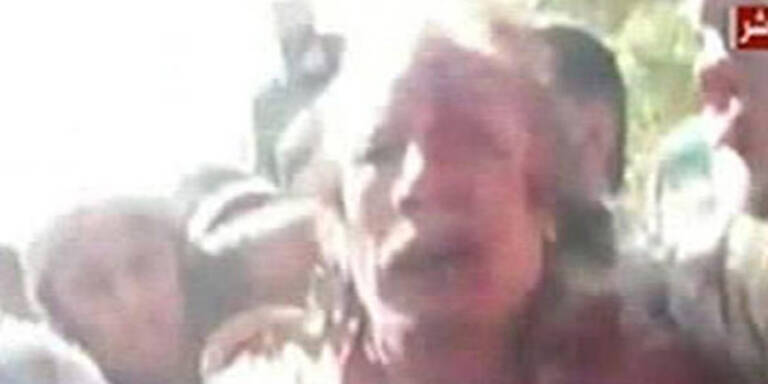 Gaddafi: Wüstendiktator hatte künstliche Haare
