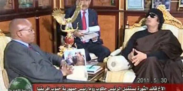 Gaddafi bietet erneut Waffenruhe an