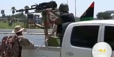 Heftige Kämpfe um Gaddafi-Residenz