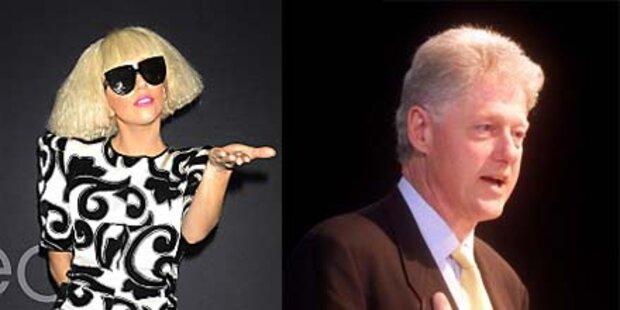 Lady Gaga und Clinton sind am mächtigsten