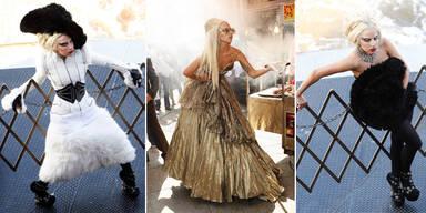 Lady Gaga Fotoshooting mit Annie Leibovitz