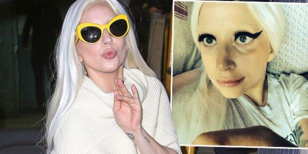 Lady Gaga, gehst du wirklich so ins Bett?
