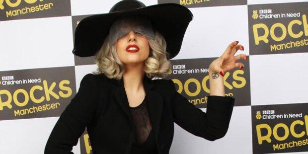 Gaga besucht Lover in Bruchbude