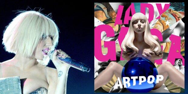 Lady Gaga im Eva-Kostüm am Cover