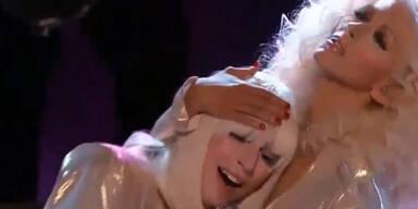 """Gaga und Auiliera rocken """"The Voice"""""""