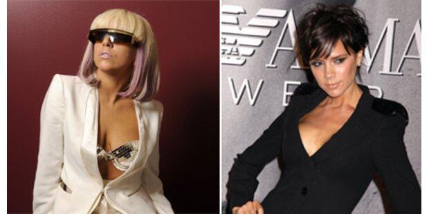 Lady Gaga und Posh Spice sind Stilikonen