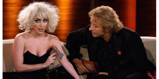 Lady Gaga lässt Gottschalk zittern