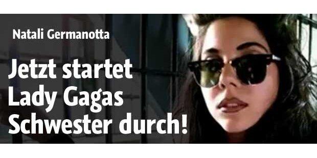 Jetzt startet Lady Gagas Schwester durch