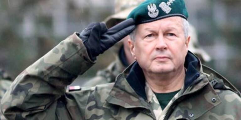 Polen verliert gesamtes Armeekommando