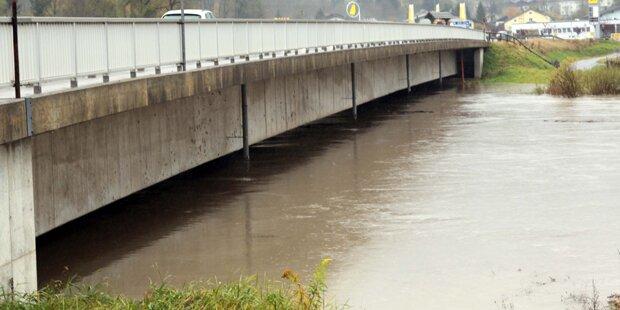 Hochwassergefahr in Kärnten vorbei