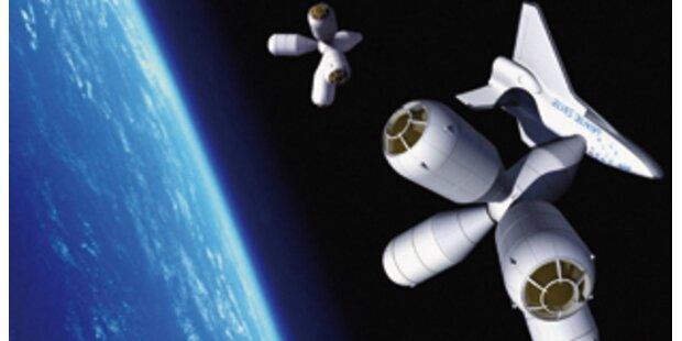 Urlaub im Weltraumhotel