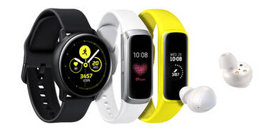 Samsung bringt Galaxy Buds & Watch Active