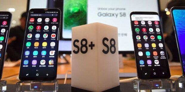 Samsung rüstet das Galaxy S8+ auf