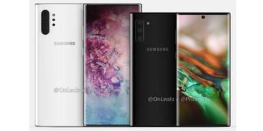 Samsung greift mit Galaxy Note 10/10+ an