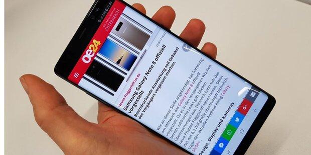 Galaxy Note 8 ist ein Verkaufsschlager