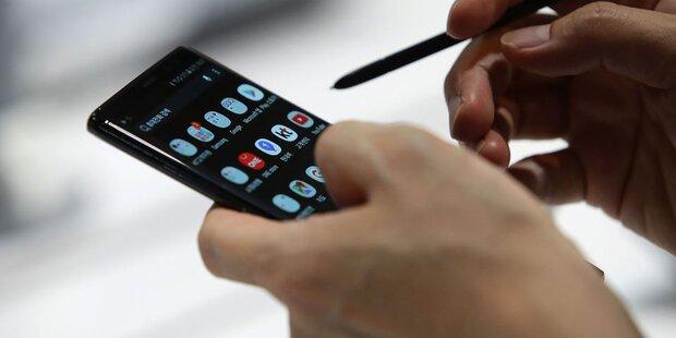 Luxusmodelle treiben Smartphone-Preise