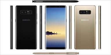 Samsung Galaxy Note 8 offiziell vorgestellt