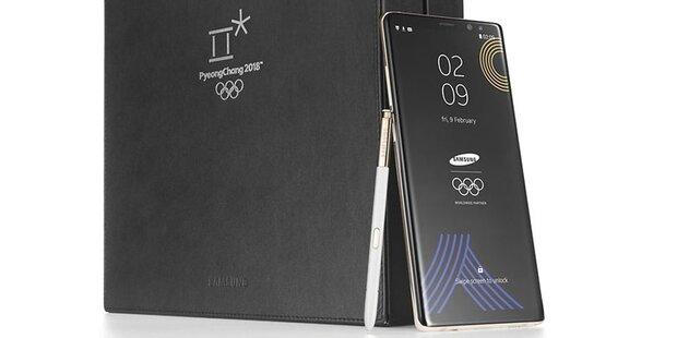 4.000 Galaxy Note 8 für Olympia-Starter