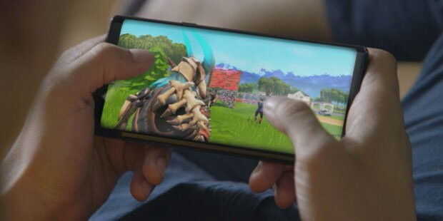 Galaxy Note 9 ist 1. Fortnite-Android-Handy