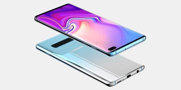 So edel soll das Samsung Galaxy S10 aussehen