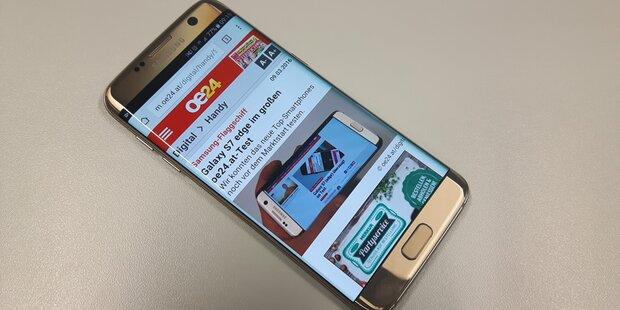 Hier ist das Galaxy S7 (edge) am günstigsten