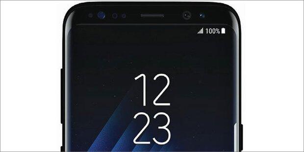 Galaxy S8 bekommt Gesichtserkennung