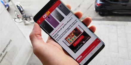 Das Samsung Galaxy S9+ im großen Test