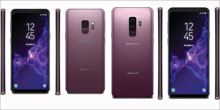 Fotos zeigen Galaxy S9 in voller Pracht