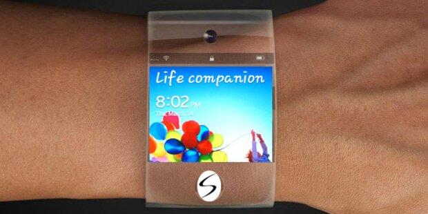 Galaxy Gear mit NFC, Kamera & Touchscreen