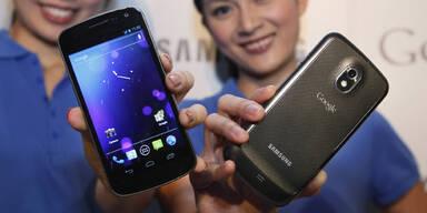 Verkaufsstopp des Galaxy Nexus bleibt