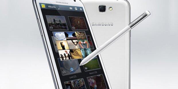 Samsung zeigt Galaxy Note auf der IFA