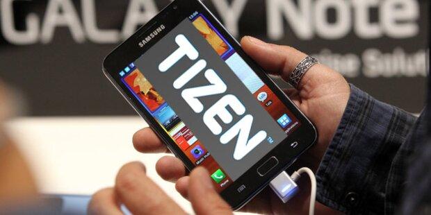 Neues Betriebssystem von Samsung & Intel