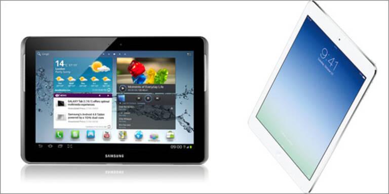 Neues Galaxy Note 10.1 schlägt das iPad Air