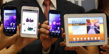 Samsung-Geräte in den USA nicht gestoppt