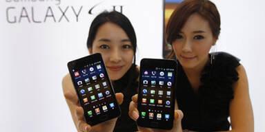 Samsung verkaufte über 300 Mio. Handys