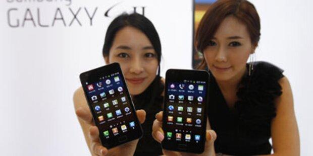 Alle drei Sekunden ein Galaxy S2 verkauft