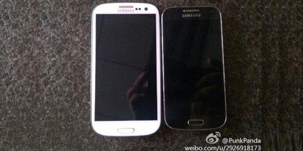 Foto zeigt das Samsung Galaxy S4 Mini