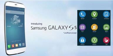 Galaxy S5: Samsung zeigt neue Oberfläche